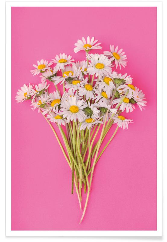 Bouquet of Daisies -Poster
