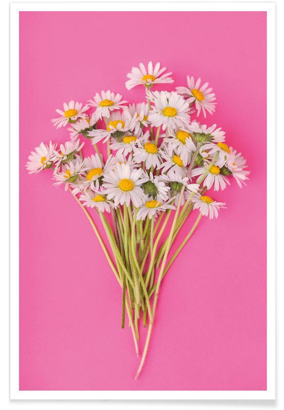 Gänseblümchen, Bouquet of Daisies -Poster