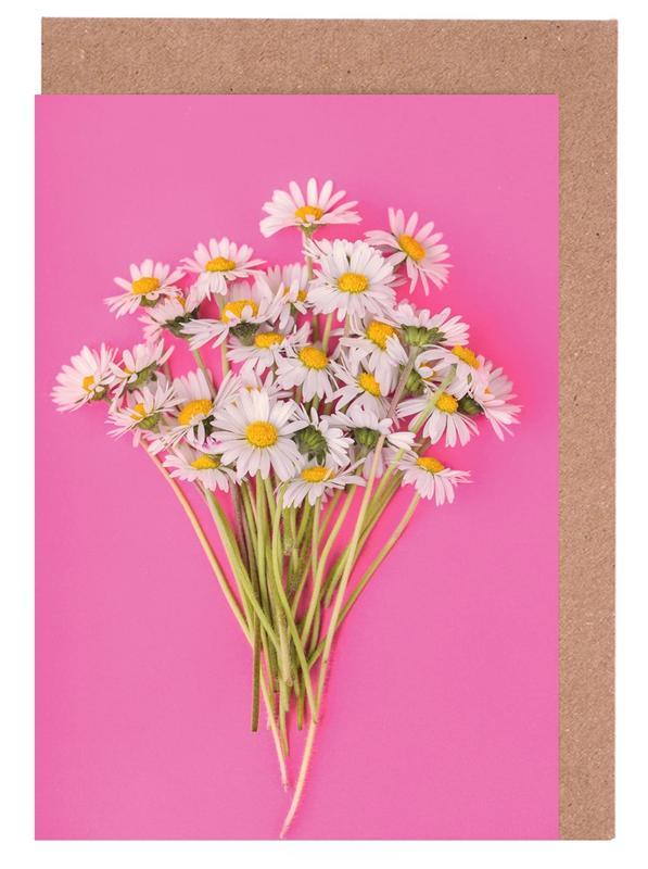 Bouquet of Daisies -Grußkarten-Set