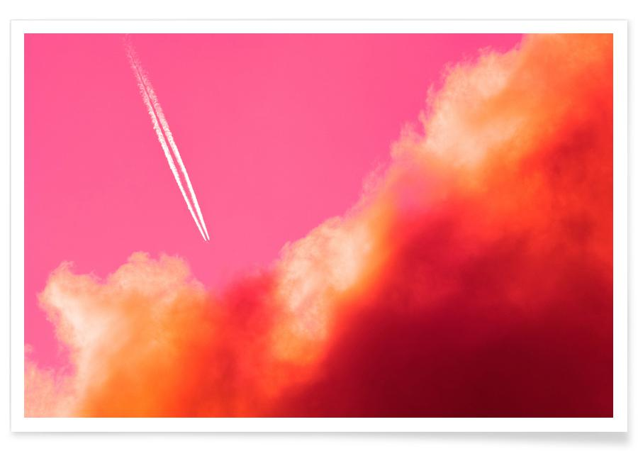 Abstract Landscapes, Skies & Clouds, Escape Poster