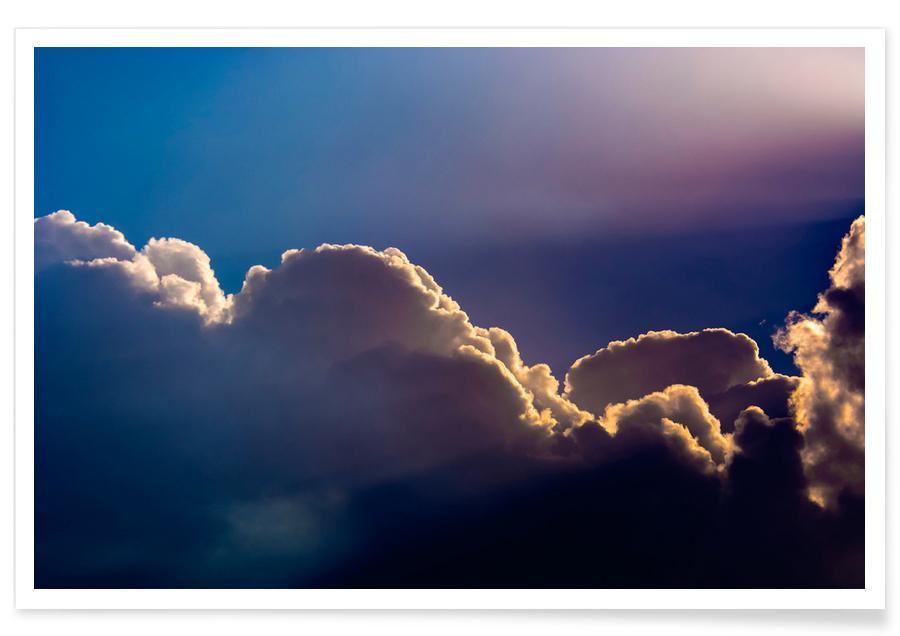 Lucht en wolken, Morning has broken poster