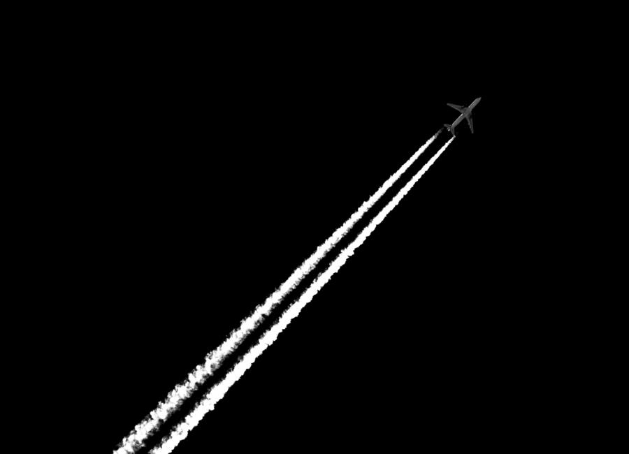 Black and White -Leinwandbild