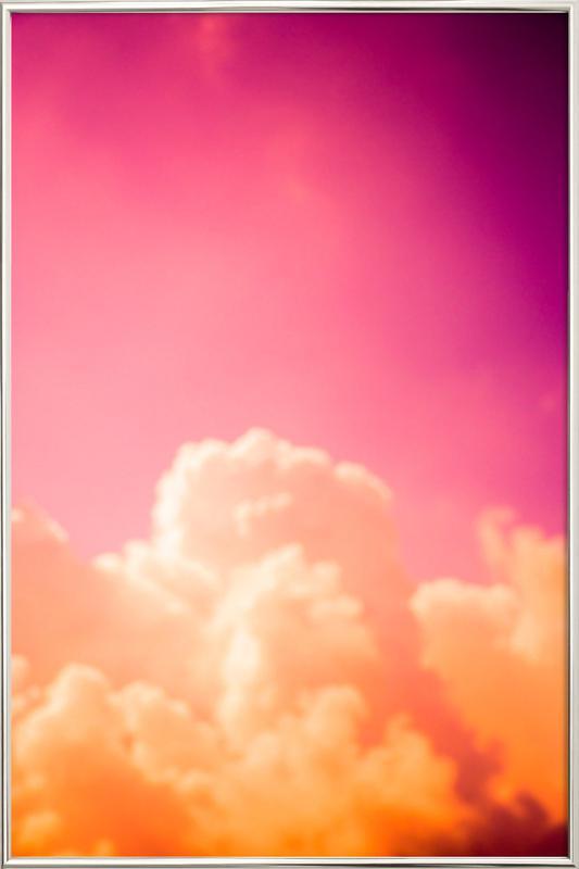 Clouds III poster in aluminium lijst