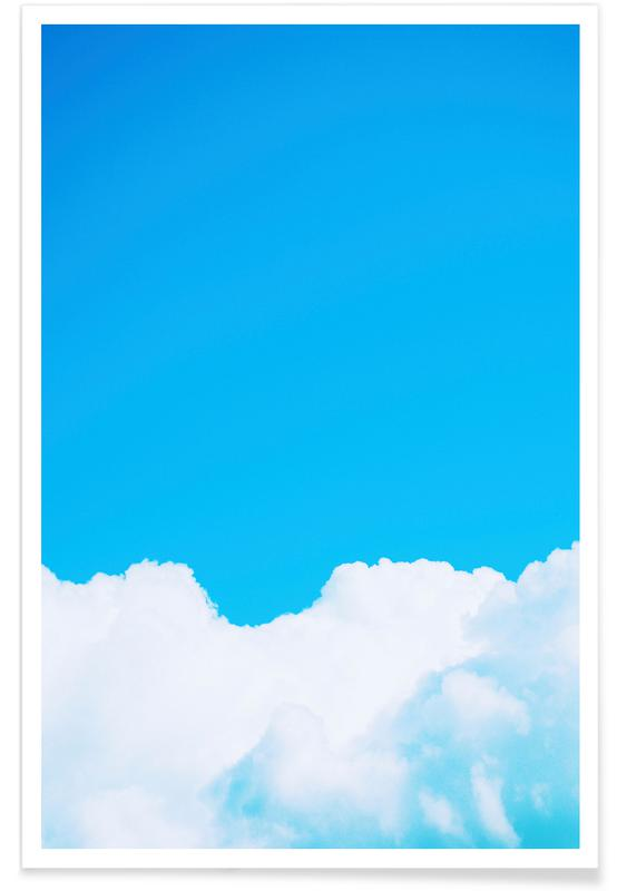Himmel & Wolken, Blue Clouds I -Poster
