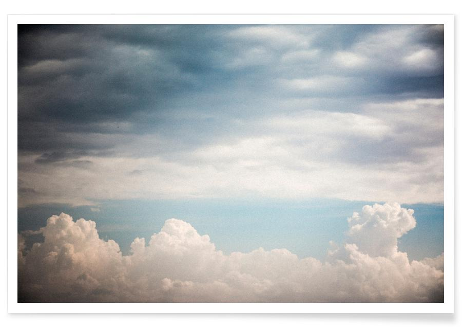 Skies & Clouds, Autumn Clouds Poster