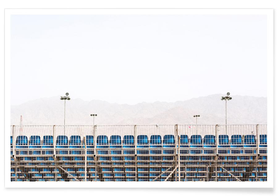 Architekturdetails, Scenes from Eilat -Poster