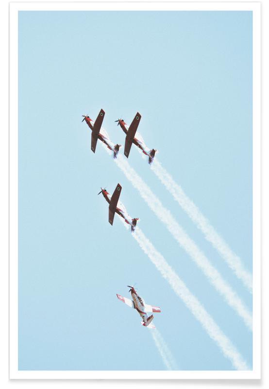 Airplanes, Vintage IAF II, 2018 Poster