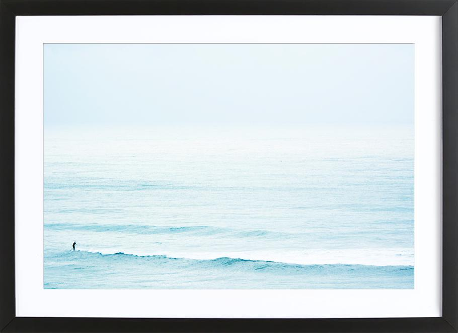 Winter Surfing Framed Print