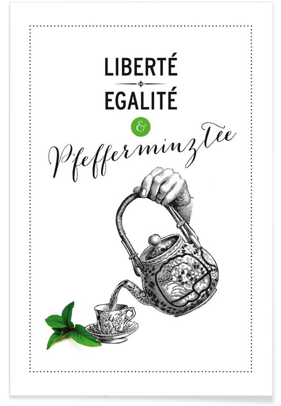 Citations et slogans, Pfefferminztee affiche