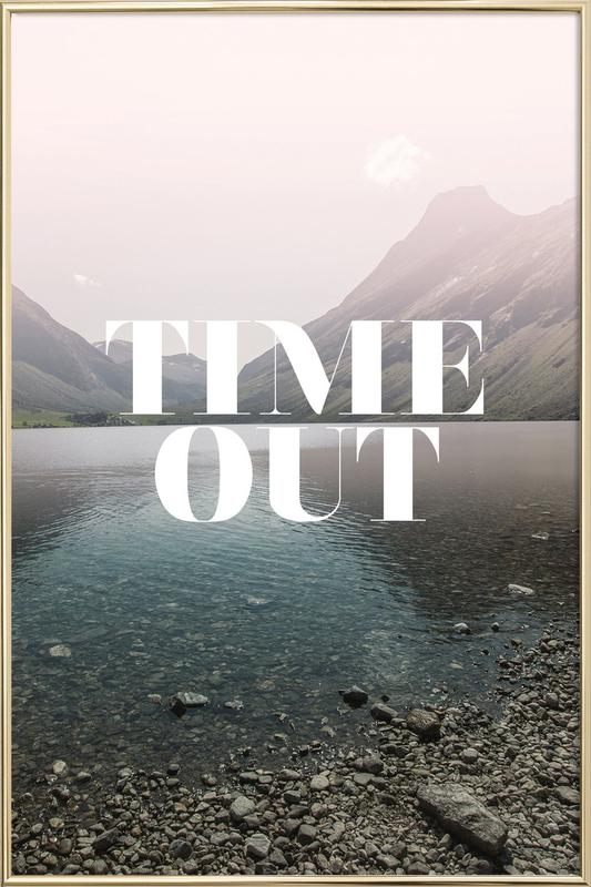 Time Out Poster in Aluminium Frame