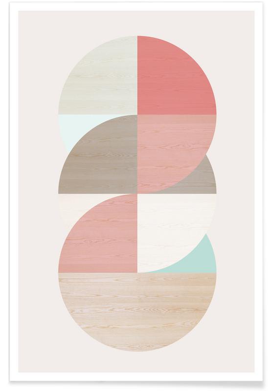 , Wooden Circles affiche
