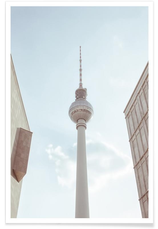 Berlin Fernsehturm poster