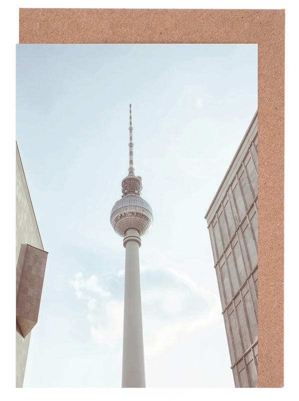 Berlin Fernsehturm Greeting Card Set