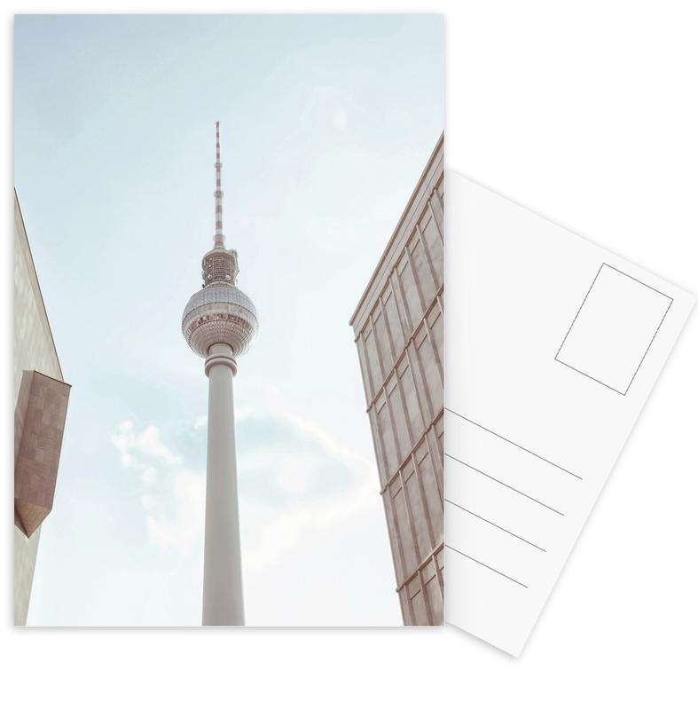 Berlin, Monuments et vues, Berlin Fernsehturm cartes postales