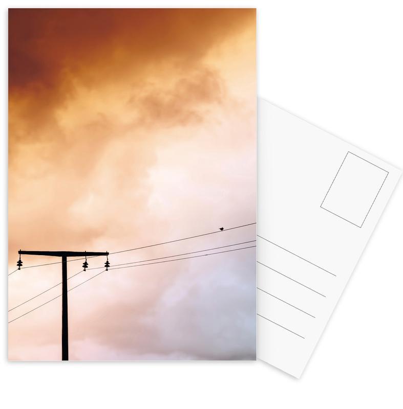 Ciels & nuages, Birdy cartes postales