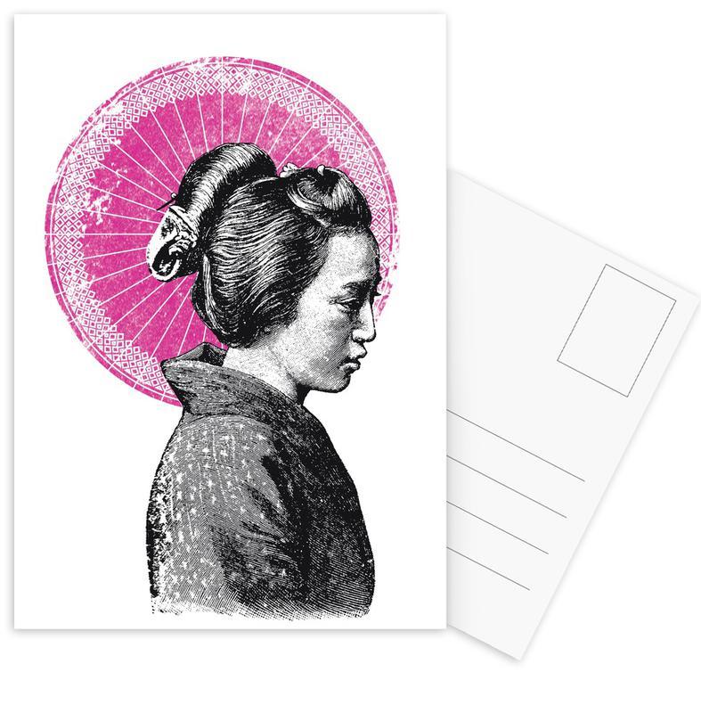 , Geisha cartes postales