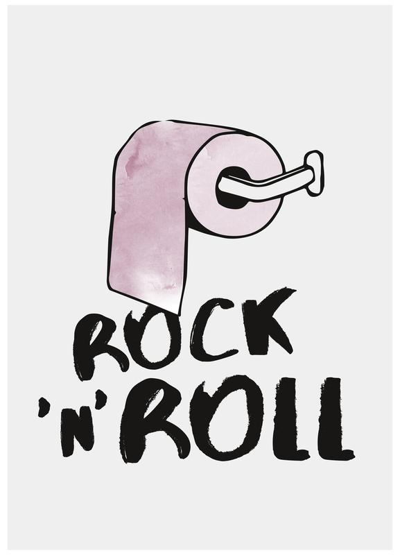 Rock 'n' Roll -Leinwandbild