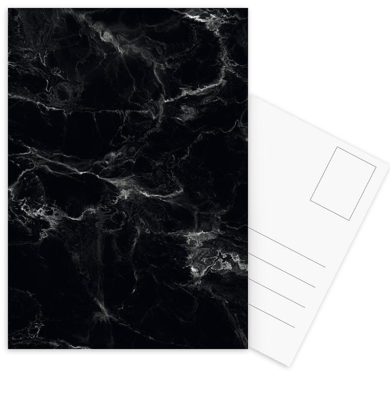 , Schwarzer Marmor cartes postales