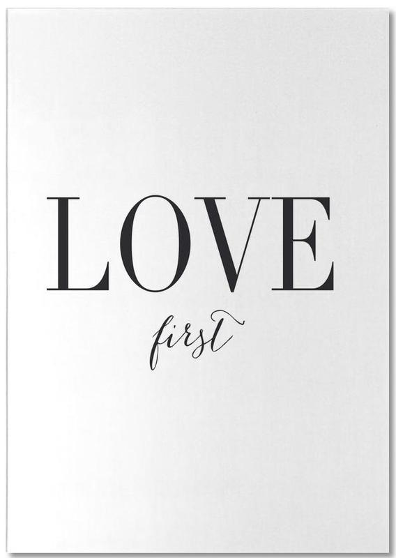 Love First -Notizblock