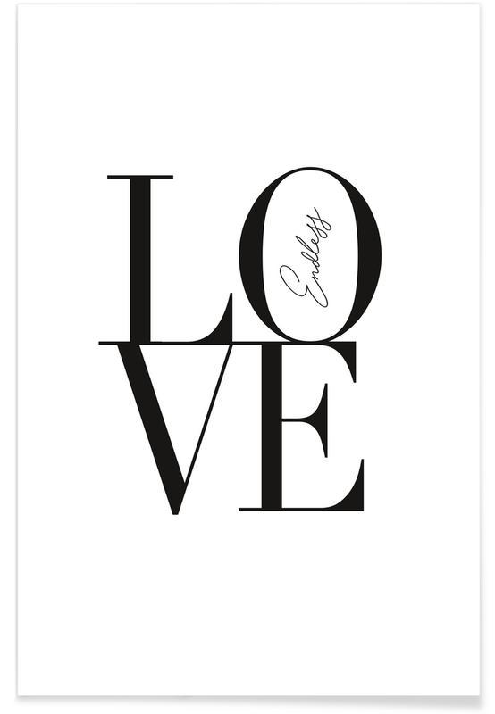 Noir & blanc, Citations d'amour, Endless Love affiche