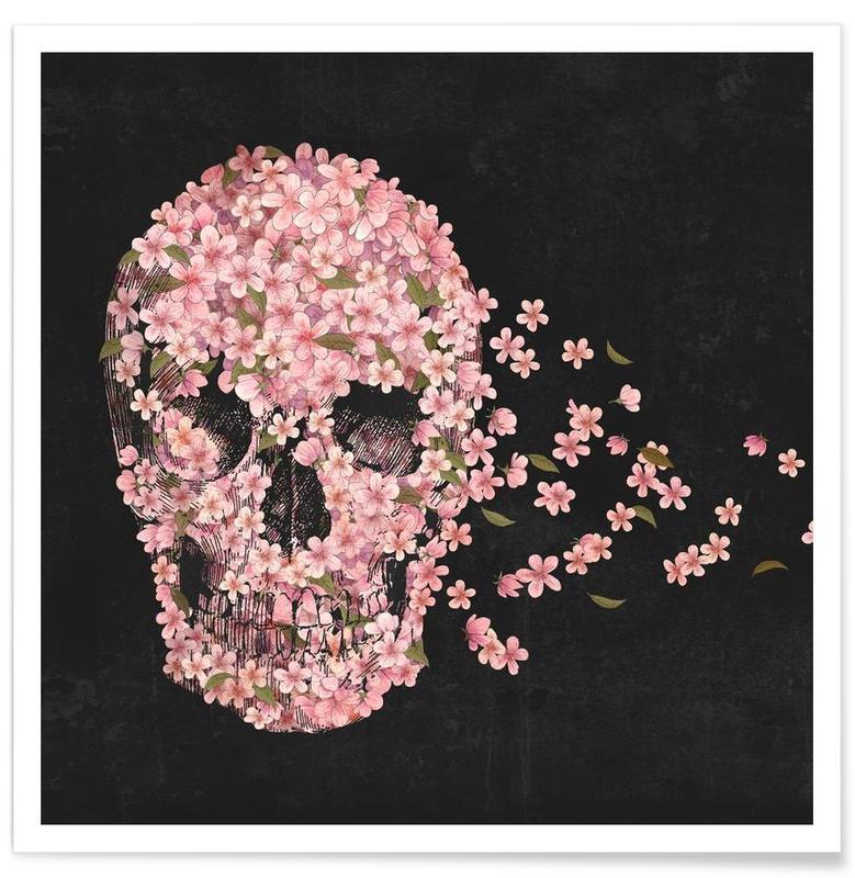 Crânes, A beautiful death affiche