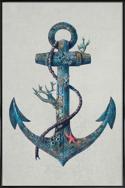 Lost at Sea Framed Poster