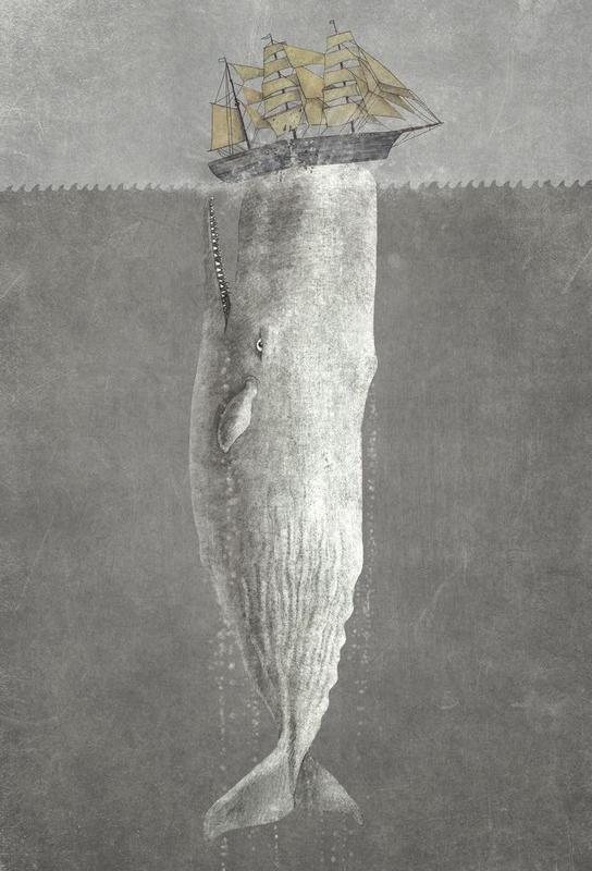 Revenge of the Whale -Acrylglasbild