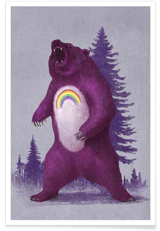 Ours, Scare Bear affiche