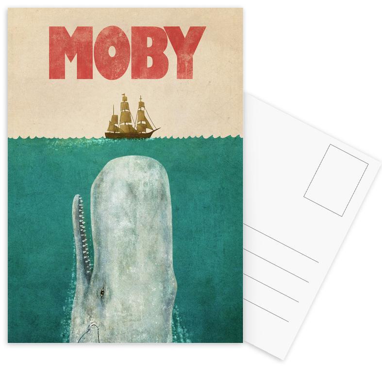 Moby Postcard Set