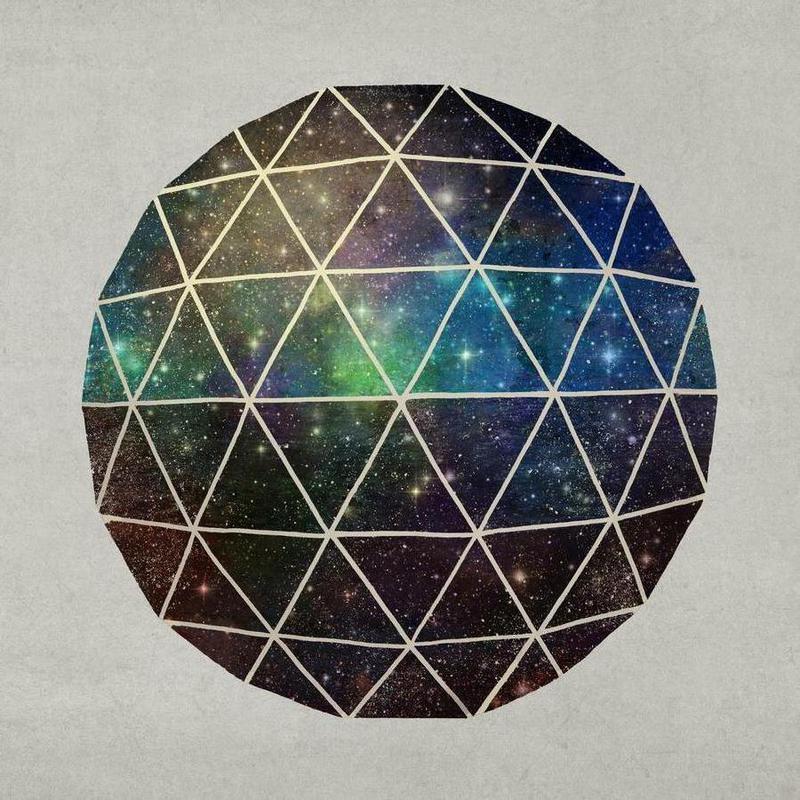 Space Geodesic -Leinwandbild
