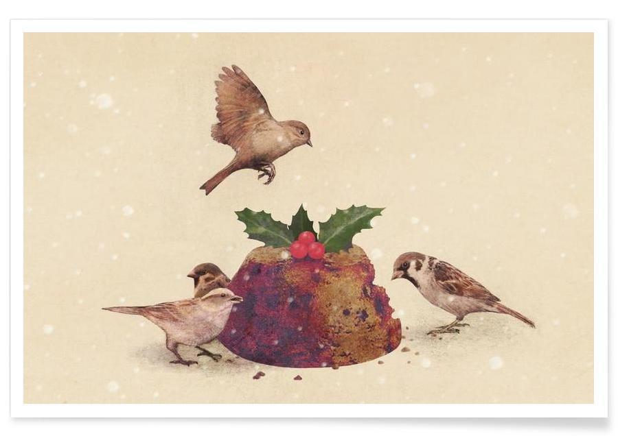 Kager, Jul, Christmas Pudding Raid Plakat