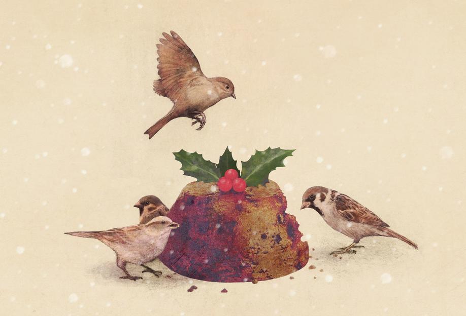 Christmas Pudding Raid -Alubild