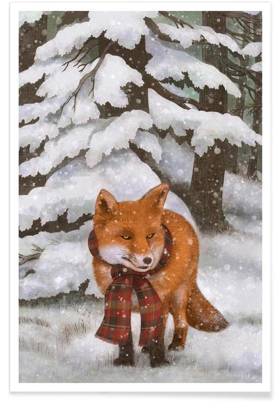 Winter Fox Poster