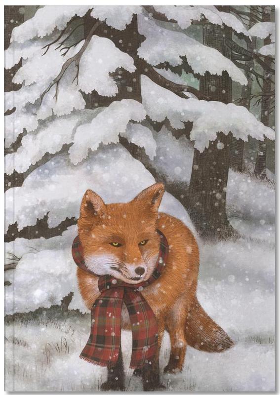 Renards, Winter Fox Notebook