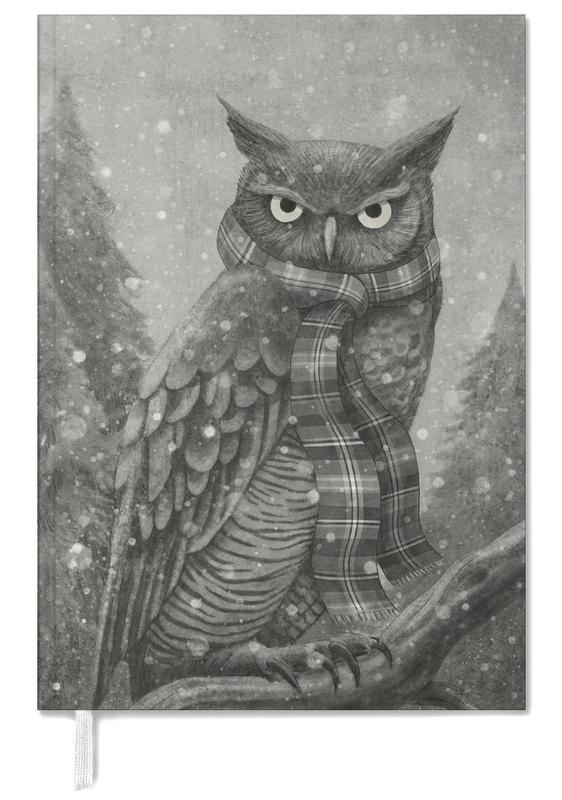 Winter Owl Personal Planner