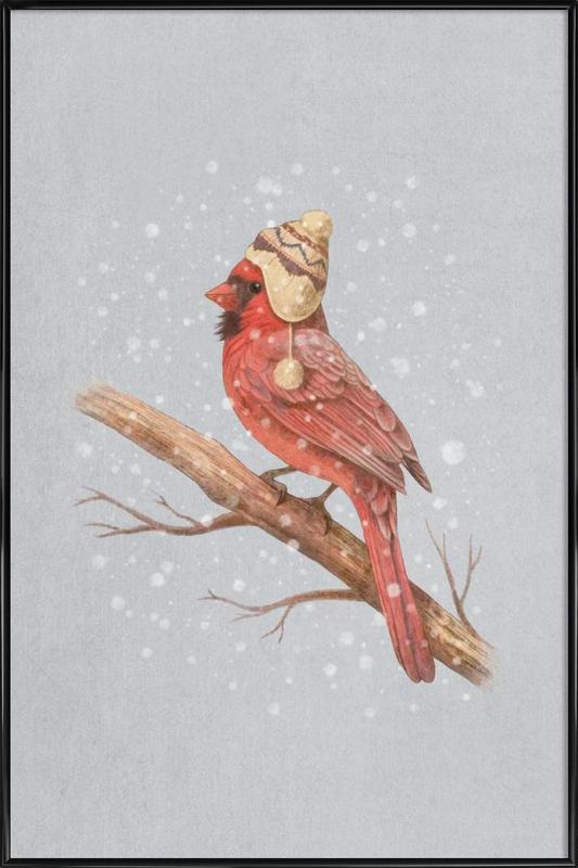First snow Framed Poster