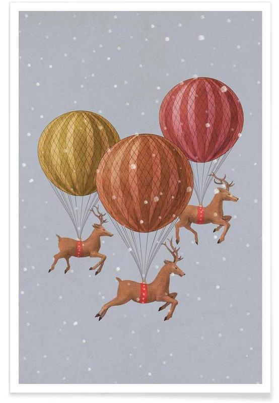 Cerfs, Flight of the deer affiche