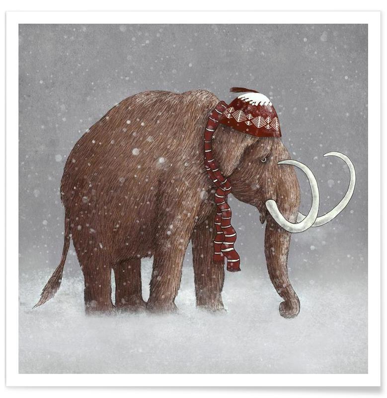 Éléphants, The ice age sucked affiche