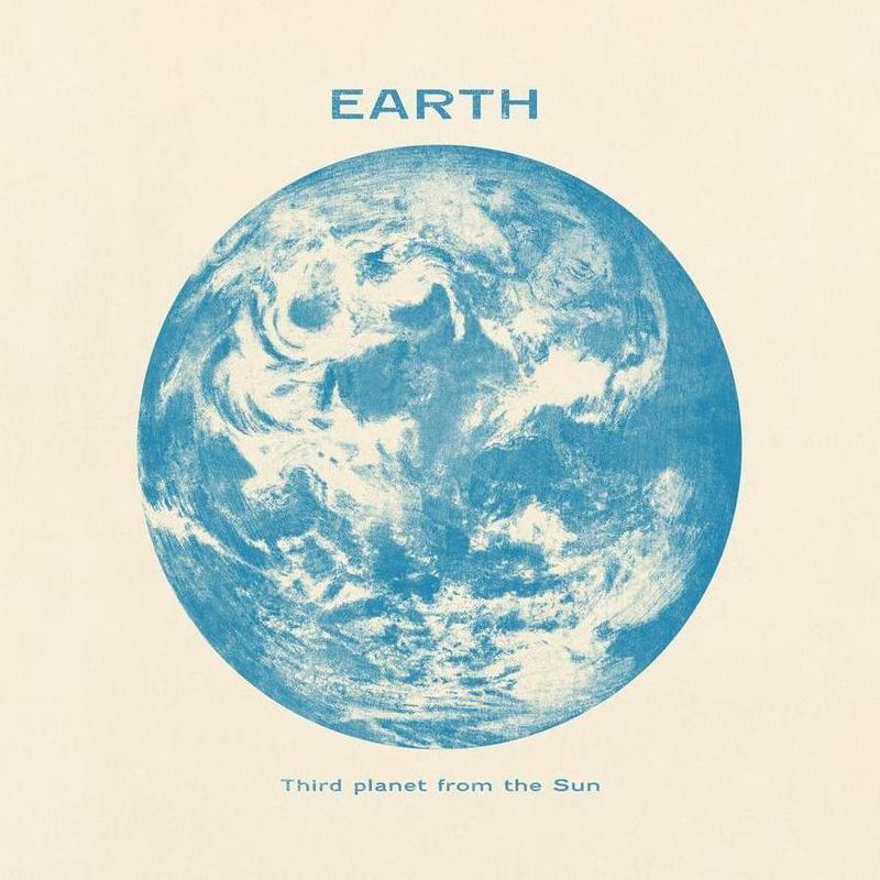 Earth -Leinwandbild