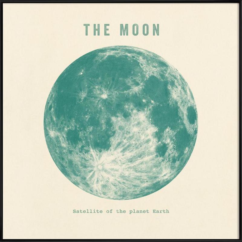 Moon Framed Poster