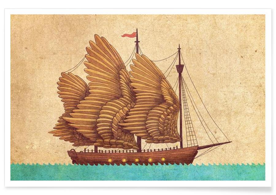 Boten, winged Odyssey poster