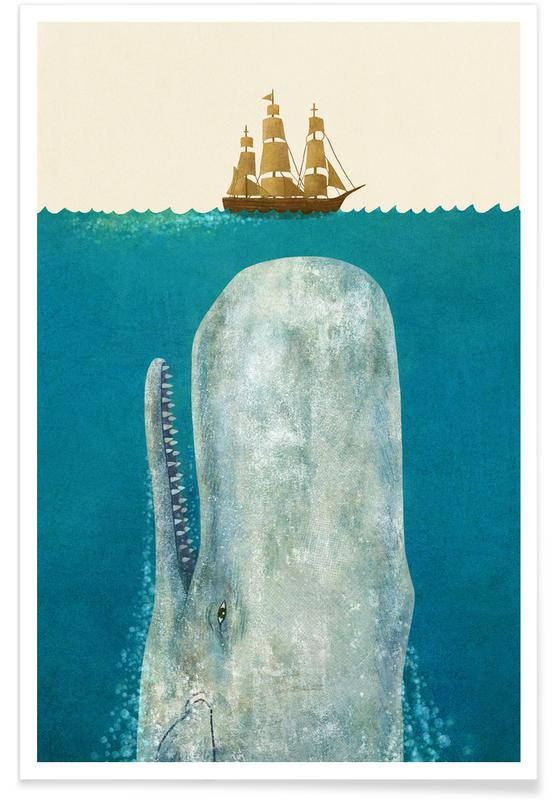 The Whale Plakat