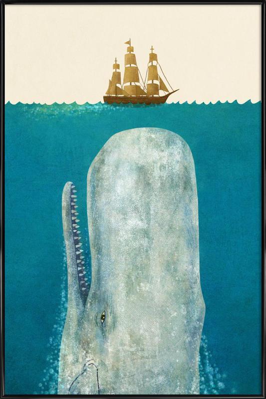 The Whale -Bild mit Kunststoffrahmen