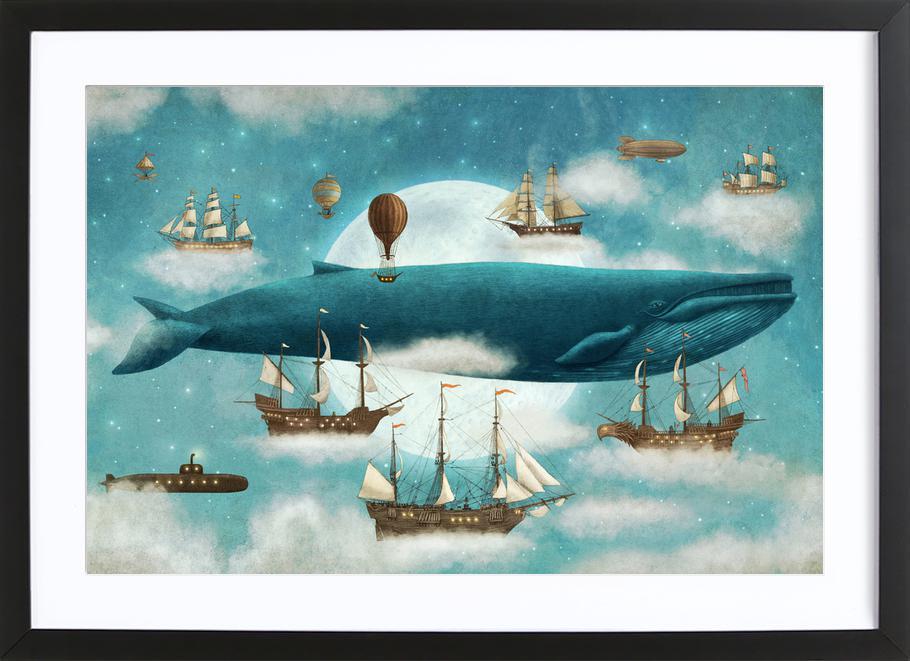 Ocean Meets Sky ingelijste print