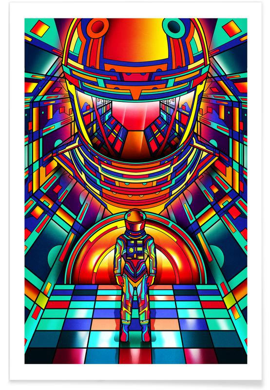 2001 A Space Odyssey -Poster