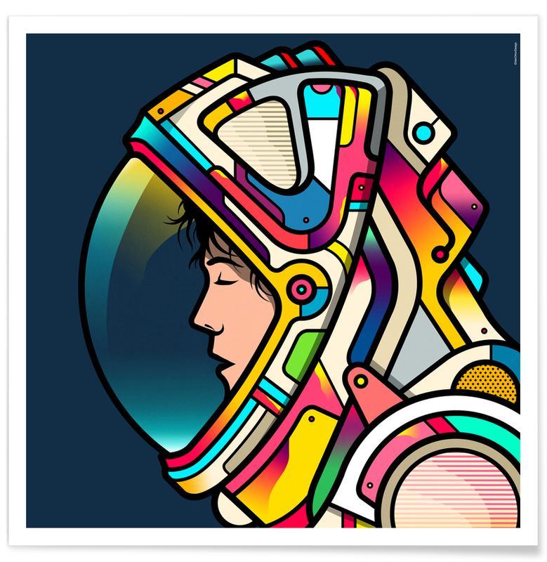 Astronauts, Movies, Ripley Poster