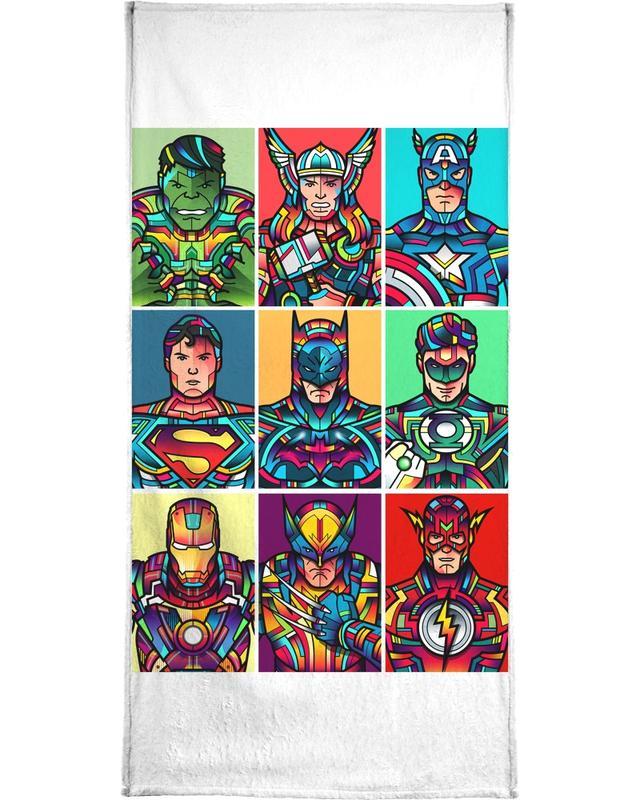 Super Pop -Handtuch