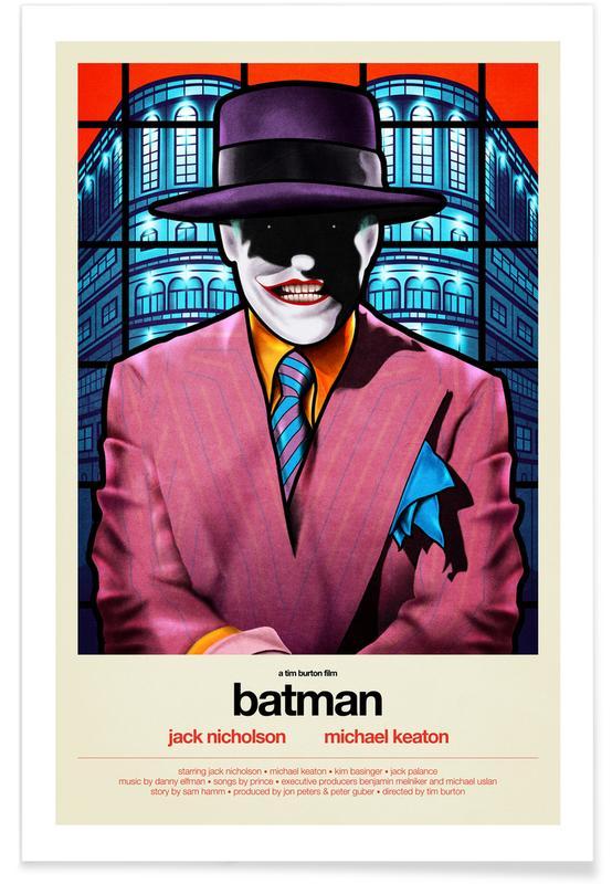 Le Joker, Films, Batman affiche