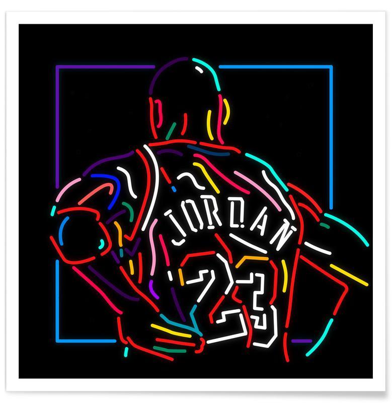 , Jordan affiche
