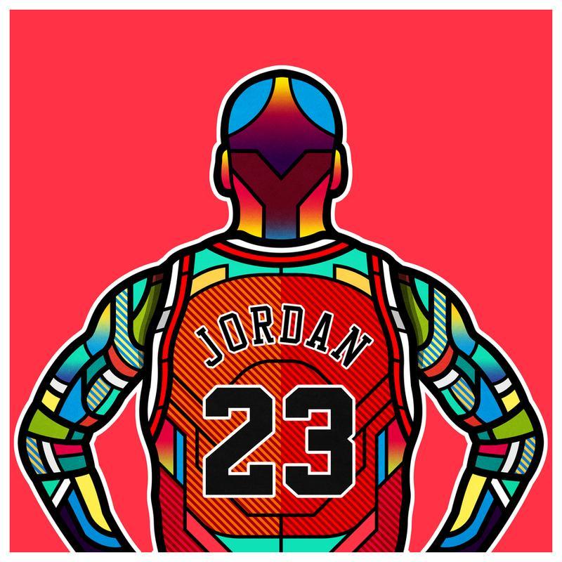 Jordan Aluminium Print